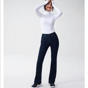 Universal Standard Flare Denim Jeans - Indigo